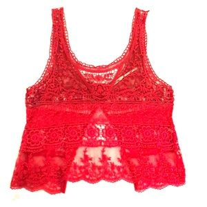 Urban Outfitters Crotchet Tank